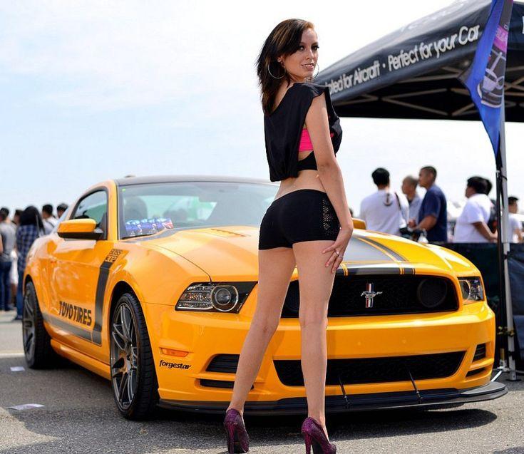 Best Cars Girls Images On Pinterest Car Girls Hot Rods