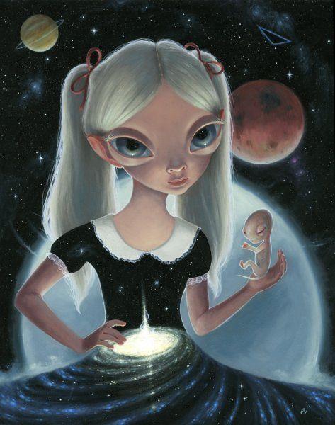 Ana Bayagan. Birth of a Universe