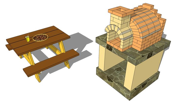 Outdoor Pizza Oven Plans | Free Outdoor Plans - DIY Shed, Wooden Playhouse, Bbq, Woodworking Projects