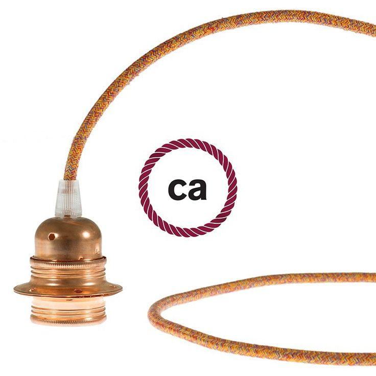 Les 25 meilleures id es de la cat gorie couleur cable - Cable electrique tissu ...