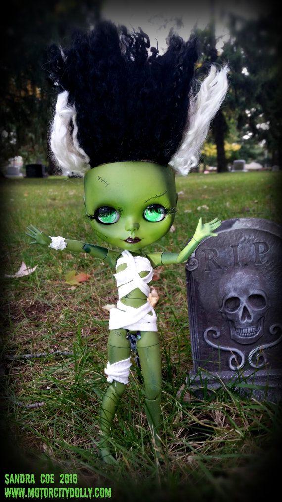 Braut von Frankenstein benutzerdefinierte OOAK von Coedependent