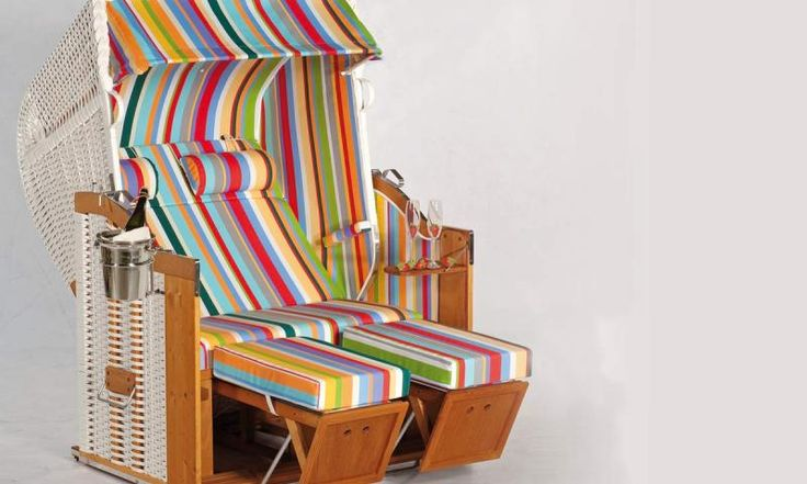 Bunten Strandkorb im Wert von 1500 Euro von SonnenPartner gewinnen! Jetzt schnell mitmachen und gewinnen!