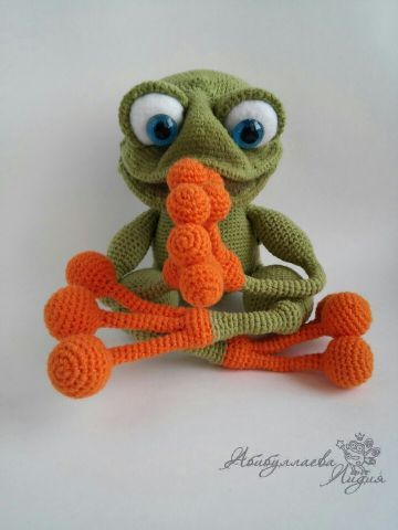 Frosch häkeln
