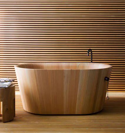 japanese ofuro soaking tub