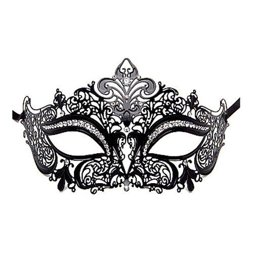 Prinsessen masker - zwart