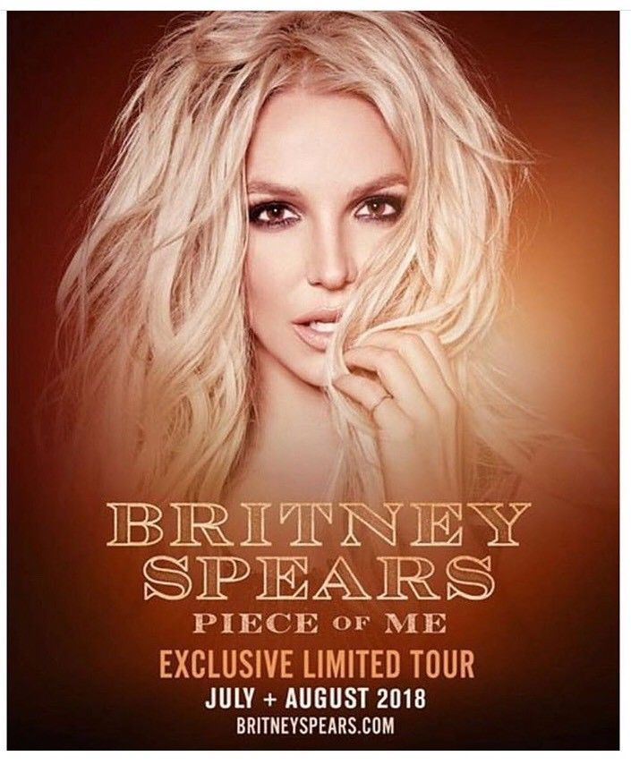 Britney Spears - 2 Main Floor Tickets at Hard Rock Cafe