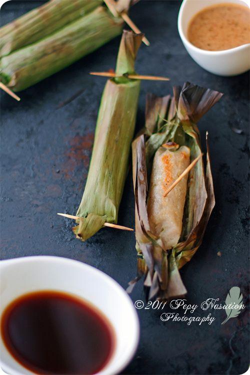 Otak-Otak Bakar Recipe (Indonesian Grilled Fish Cake)