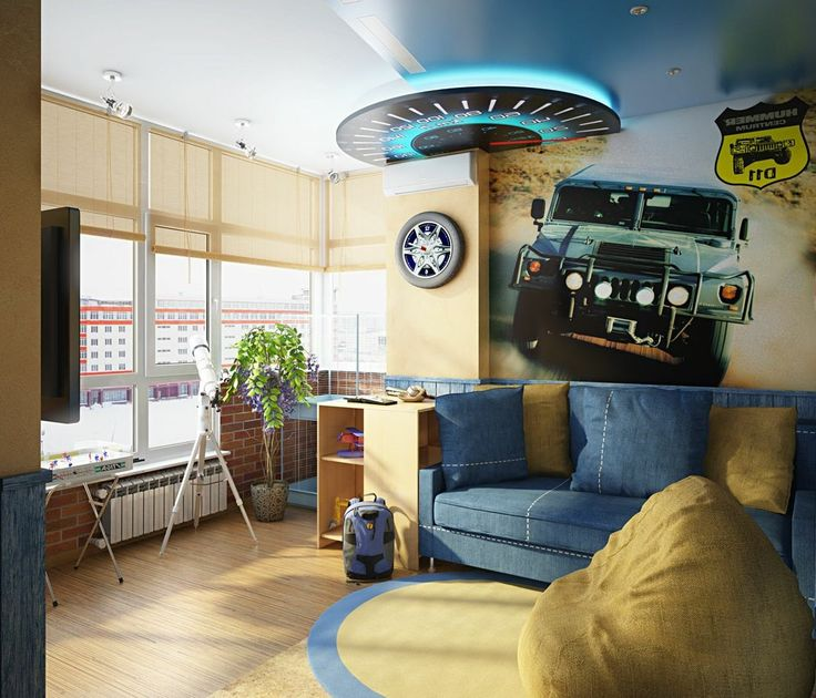 Cool Bedroom Ideas For Teenage Guys: Bedroom , Cool And Attractive Bedroom Design Ideas For