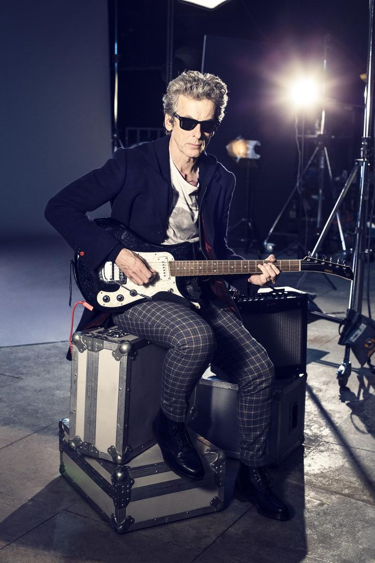 Peter Capaldi, our rock n' roll Doctor  New #DoctorWho TONIGHT at 9/8c on @BBCAMERICA!