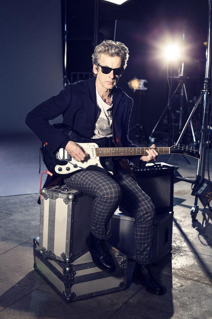 Peter Capaldi, Rockin Doctor!