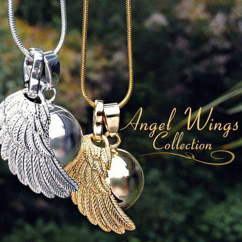 Angel Wing Harmony Necklace – Hotsy Totsy