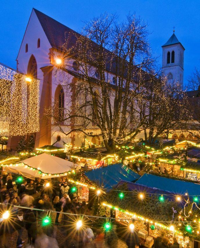 Freiburg Christmas Market, Freiburg, Germany23rd November – 23rd December 2016 Opening Times Mon-Sat 10.00am-8.30pm Sun 11.30am-7.30pm