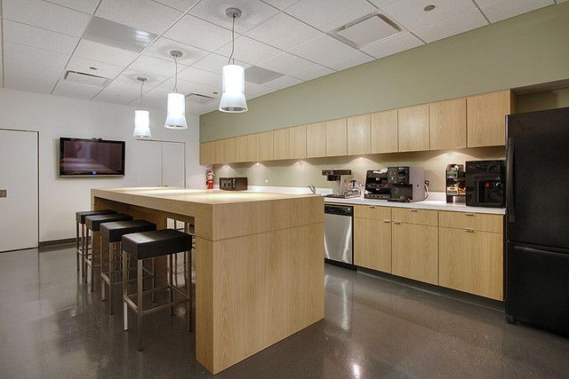 office kitchen in basement chiro office layout pinterest