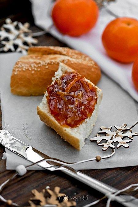 Konfitura z pomarańczy - można zrobić w proporcji 5 pomarańczy, 1,5 szkl. cukru