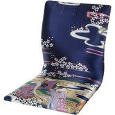 Found it at Wayfair - Tatami Indigo Geisha Meditation Fabric Lounge Chair