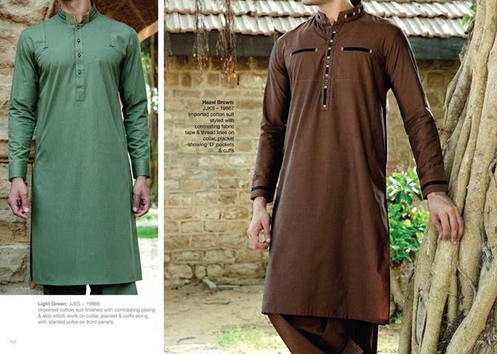 Western Trends Men's Shalwar Kameez Eid Dresses by Junaid Jamshed 9 Junaid Jamshed Shalwar Kameez Eid Collection for Men's