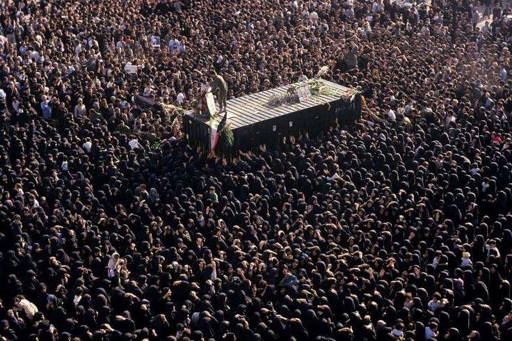 June 3, 1989: AYATOLLAH RUHOLLAH KHOMEINI DIES  Iran's spiritual leader, Ayatollah Ruhollah Khomeini, dies.