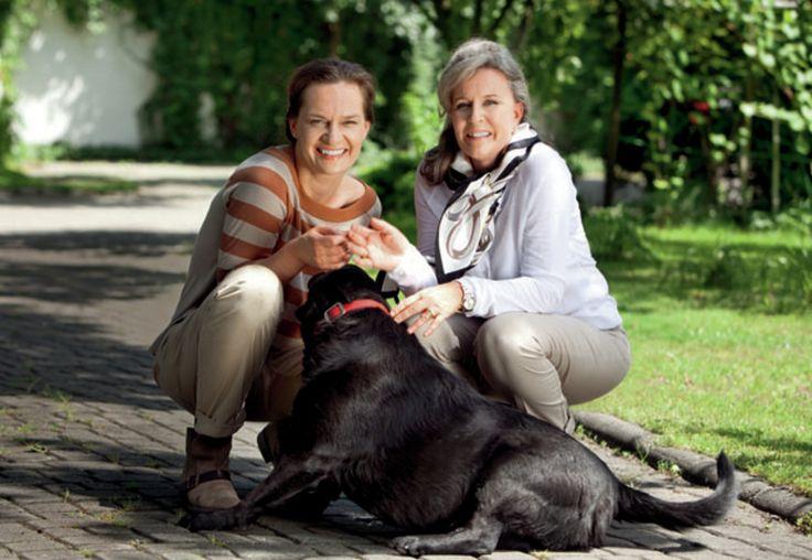 córka i matka - Maria Seweryn i Krystyna Janda