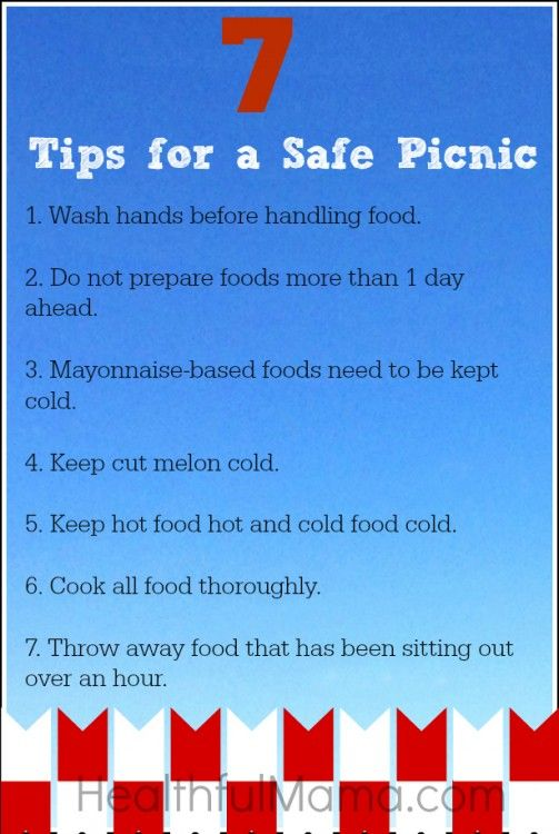7 picnic safety tips you might not know