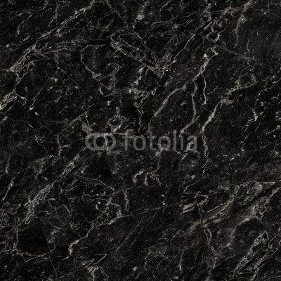 Black Marble Texture Tile