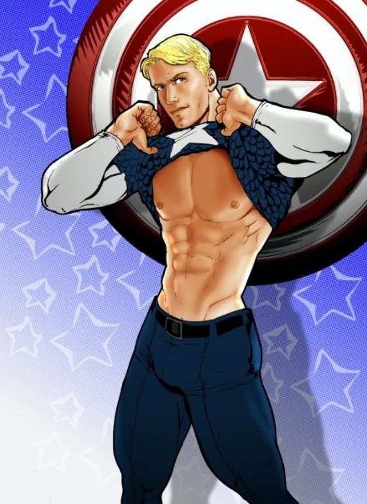 Captain America Cartoon Porn - Is that sad that I'm attracted to him even in cartoon form?