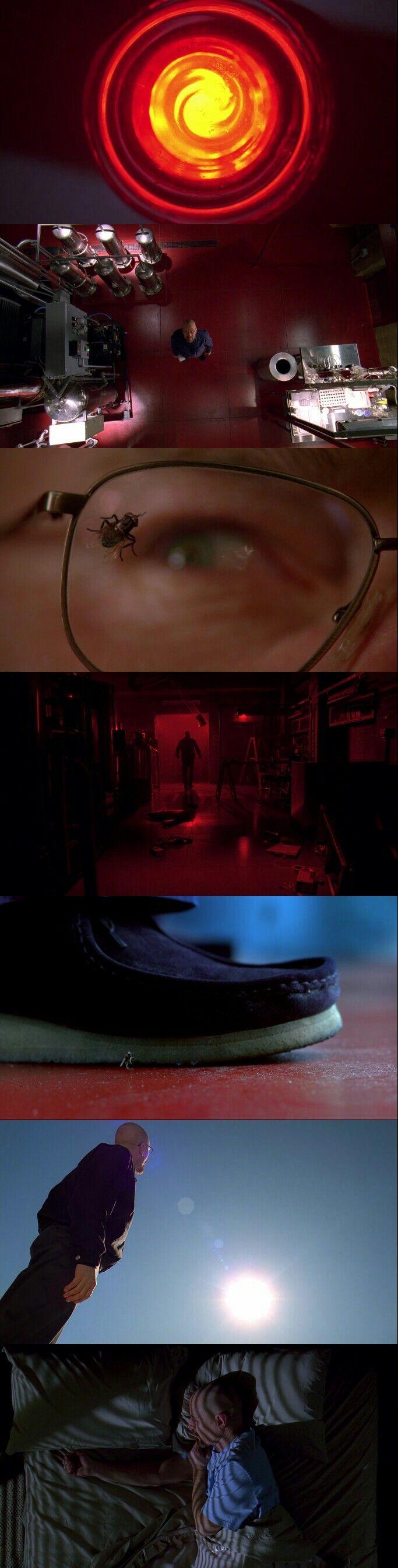 Breaking Bad (2008 - 2013) Season 3 Episode 10 : Fly  El episodio más aburrido de BB pero cinematográficamente es fantástico