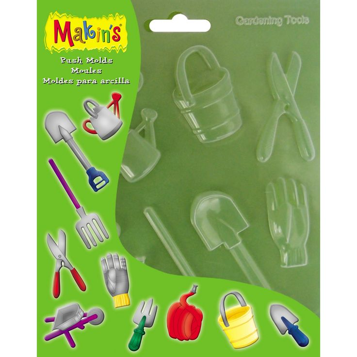 Clay Push Molds-Gardening Tools, Art & Drawing Toys