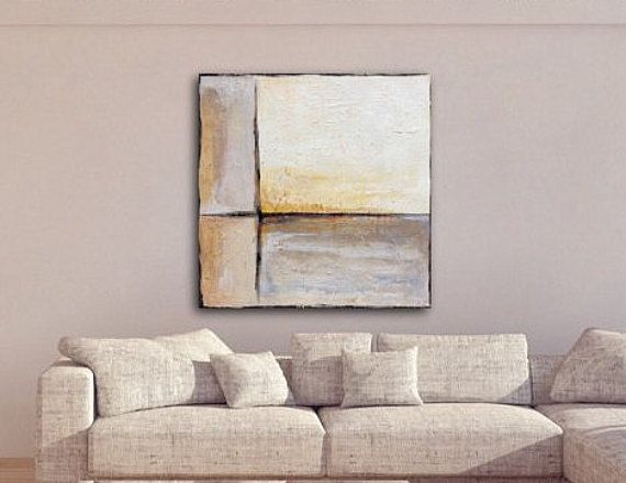 Large Abstract Painting Large Landscape by ArtbySonjaAlfreider