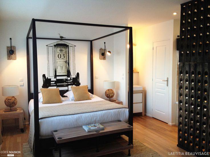 72 best DECO CHAMBRE images on Pinterest Apartment design, Bed