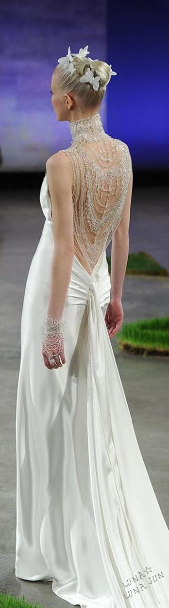 Ines Di Santo Bridal Spring 2016 #coupon code nicesup123 gets 25% off at  www.Skinception.com