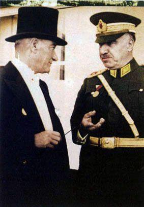 Fezdi Cakmak and Ataturk - Fevzi Çakmak - Vikipedi