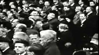 Jean Moulin - discours d'André Malraux lors du transfert de ses cendres au Panthéon (1964)