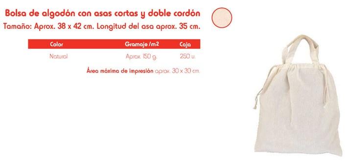 Bolsas de algodón  www.elreydelabolsa.com