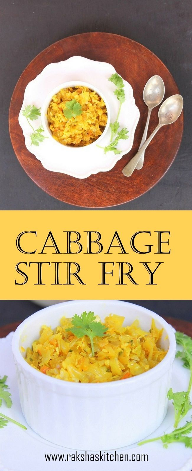 Cabbage Stir Fry Delicious stir fry made with cabbage #recipes #cabbagerecipes #stirfry #meals #lunch #dinner