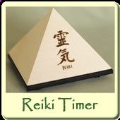 The Reiki Timer is a beautiful pyramid made of solid wood which chimes a pure gong sound at regular intervals. Ten seconds after you set the Reiki Timer, you will hear its first beautiful chime and then again at intervals corresponding to your setting. Most useful to the Reiki practitioner, it is a reminder of the passing of time that leaves you free to be even more present to the sensations arising in the course of your sessions. (Article With Video)
