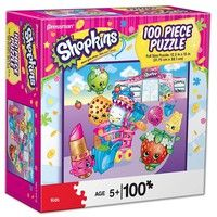 Shopkins Grocery Store 100 Piece Puzzle: Shopkins are sweeping the nation with their adorable & tiny