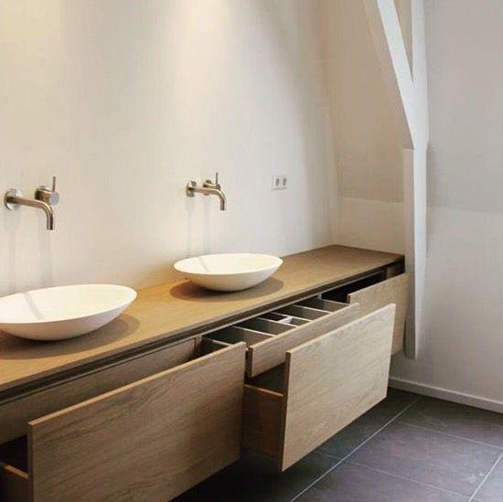 Tiroirs salle de bains