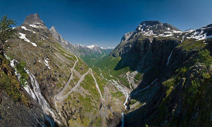 Trollstigen, Norwey