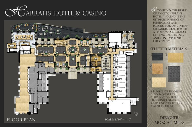 Hotel floor plan portfolio pinterest hotels floor for Hotel plan design