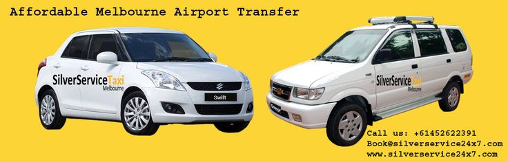 If you are looking for #Cab #service from Airport to Melbourne city then Book Your cabs with #Affordable #Melbourne #Airport #Transfer service provide by Silverservice24x7 Taxi Melbourne. Book cab by Book@silverservice24x7.com For more query call us +61452622391 or visit at www.silverservice24x7.com