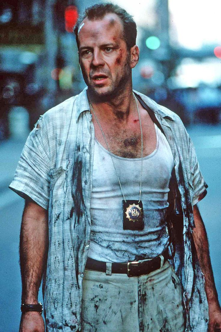 Bruce Willis Die Hard With A Vengance