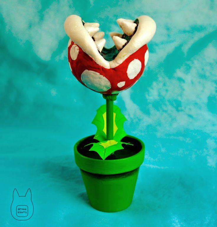 Otaku Crafts: Make Your Own Piranha Plant