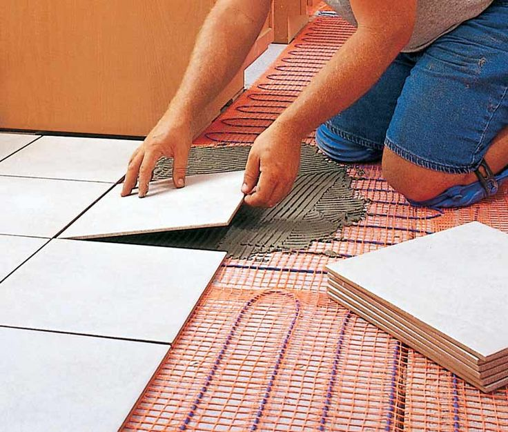 Heated Floors after the house is built  Green Daily Life