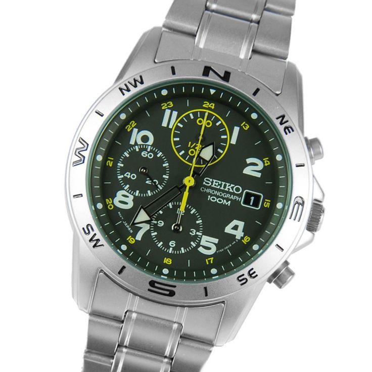 Chronograph-Divers.com - Seiko Chronograph SND377P1 Mens Military Watch, S$132.80 (http://www.chronograph-divers.com/seiko-chronograph-watch-snd377p1/)