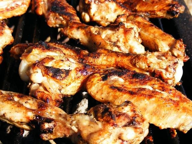 There is a big game tonight... So we are having a chicken wing special... with many sauces to choose from hot, hotter, hottest, and suicide!