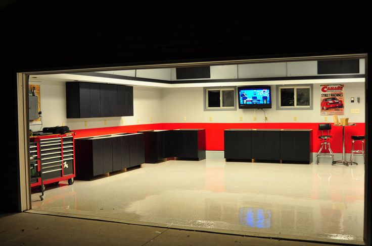 garage paint scheme | thinking this would look strange inside my 40s saltbox garage