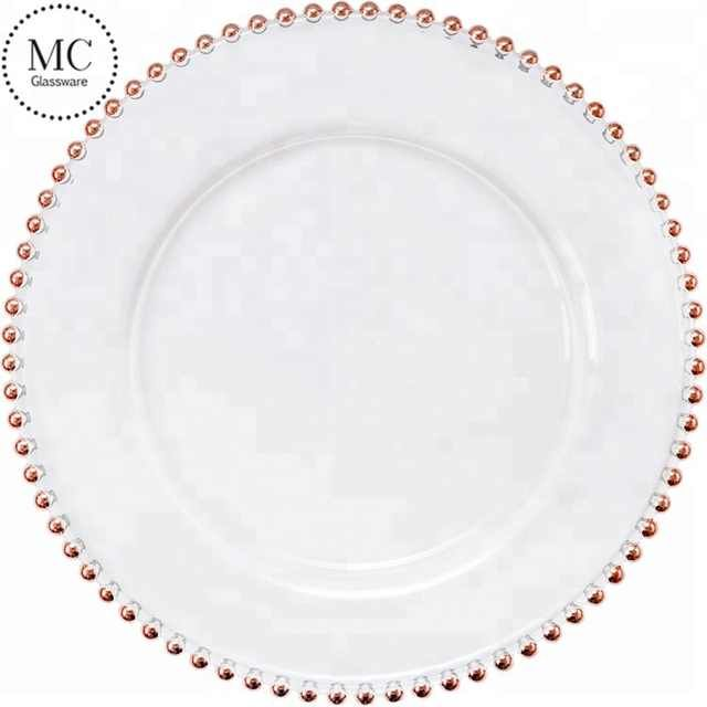 Cheap Wedding Rose Gold Charger Plate Buy Beaded Charger Plate Wedding Underplate Product On Alibaba Com Rose Gold Charger Plates