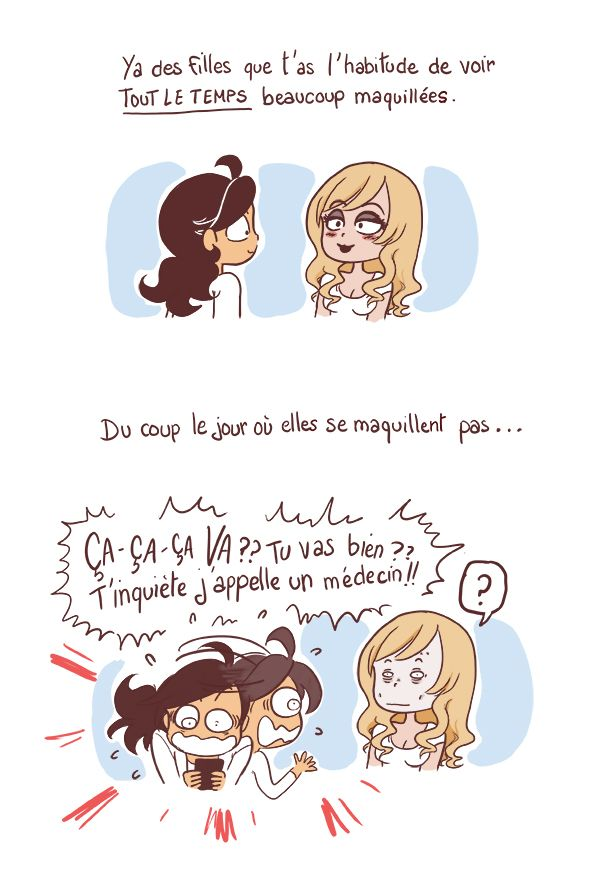 Le maquillage surprise ! - YATUU - blog BD