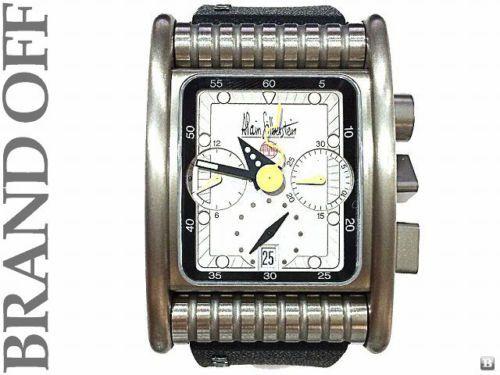 ALAIN SILBERSTEIN SILVER TITANIUM WATCH BK51 - http://menswomenswatches.com/alain-silberstein-silver-titanium-watch-bk51/ COMMENT.