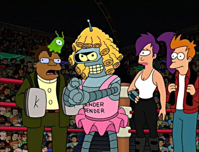 Futurama | Raging Bender - Futurama Wiki, the Futurama database